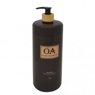 שמפו ללא מלחים לשיער שעבר החלקה
