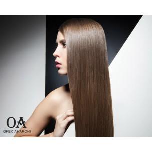 מוצרים לשיער שעבר החלקה